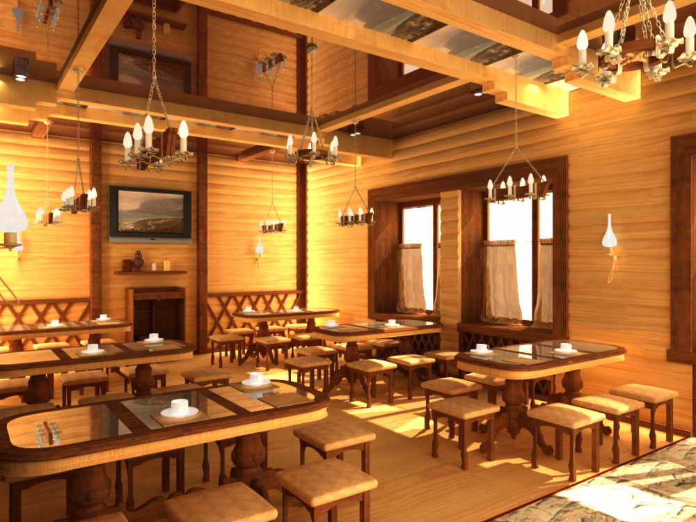 Дизайн и интерьер кафе ресторанов